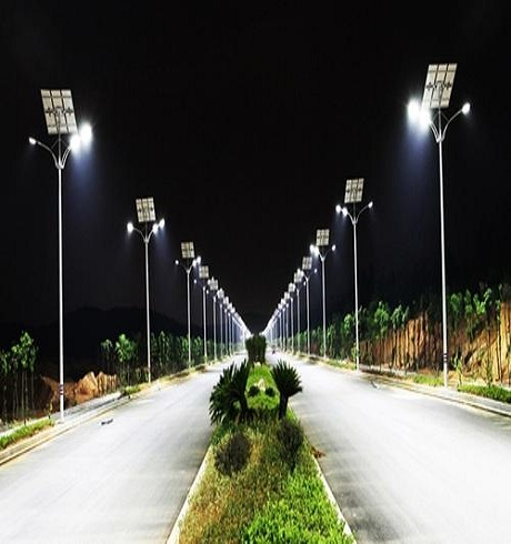 All in one (Integrated) Solar Street Lights